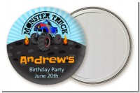 Monster Truck - Personalized Birthday Party Pocket Mirror Favors