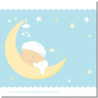 Over The Moon Boy Baby Shower Theme