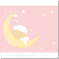 Over The Moon Girl Baby Shower Theme