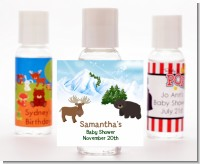 Moose and Bear - Personalized Baby Shower Hand Sanitizers Favors