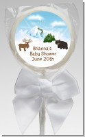 Moose and Bear - Personalized Baby Shower Lollipop Favors