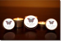 Mosaic Butterfly - Bridal | Wedding Candle Favors