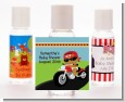 Motorcycle African American Baby Boy - Personalized Baby Shower Hand Sanitizers Favors thumbnail