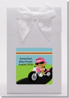 Motorcycle African American Baby Girl - Baby Shower Goodie Bags