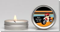 Motorcycle Baby - Baby Shower Candle Favors