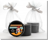 Motorcycle Baby - Baby Shower Black Candle Tin Favors