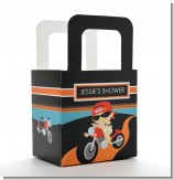 Motorcycle Baby - Personalized Baby Shower Favor Boxes