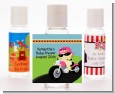 Motorcycle Baby Girl - Personalized Baby Shower Hand Sanitizers Favors thumbnail