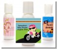 Motorcycle Baby Girl - Personalized Baby Shower Lotion Favors thumbnail