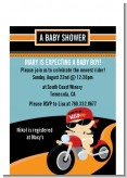 Motorcycle Baby - Baby Shower Petite Invitations