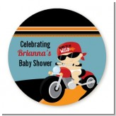 Motorcycle Baby - Personalized Baby Shower Table Confetti