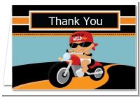 Motorcycle Baby - Baby Shower Thank You Cards