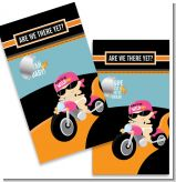 Motorcycle Baby Girl - Baby Shower Scratch Off Game Tickets