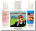 Motorcycle Hispanic Baby Boy - Personalized Baby Shower Lotion Favors thumbnail