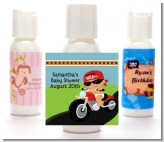 Motorcycle Hispanic Baby Boy - Personalized Baby Shower Lotion Favors