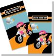 Motorcycle Hispanic Baby Girl - Baby Shower Scratch Off Game Tickets thumbnail