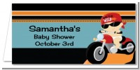 Motorcycle Baby - Personalized Baby Shower Place Cards