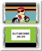 Motorcycle Baby - Personalized Baby Shower Mini Candy Bar Wrappers