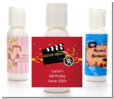Movie Night - Personalized Birthday Party Lotion Favors