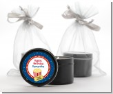 Movie Theater - Birthday Party Black Candle Tin Favors