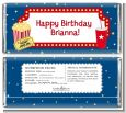 Movie Theater - Personalized Birthday Party Candy Bar Wrappers thumbnail