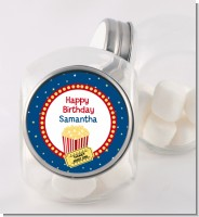 Movie Theater - Personalized Birthday Party Candy Jar