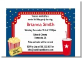 Movie Theater - Birthday Party Petite Invitations