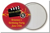 Movie Night - Personalized Birthday Party Pocket Mirror Favors