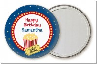Movie Theater - Personalized Birthday Party Pocket Mirror Favors