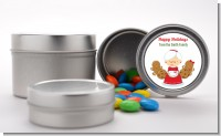 Mrs. Santa - Custom Christmas Favor Tins