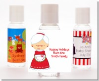 Mrs. Santa - Personalized Christmas Hand Sanitizers Favors