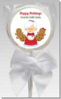 Mrs. Santa - Personalized Christmas Lollipop Favors