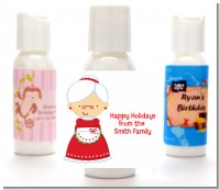 Mrs. Santa - Personalized Christmas Lotion Favors