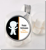 Mummy Costume - Personalized Halloween Candy Jar