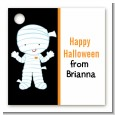 Mummy Costume - Personalized Halloween Card Stock Favor Tags thumbnail