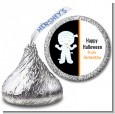Mummy Costume - Hershey Kiss Halloween Sticker Labels thumbnail