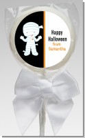 Mummy Costume - Personalized Halloween Lollipop Favors