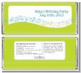 Musical Notes Colorful - Personalized Birthday Party Candy Bar Wrappers thumbnail