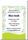 Musical Notes Colorful - Birthday Party Petite Invitations