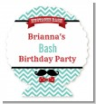 Mustache Bash - Personalized Birthday Party Centerpiece Stand thumbnail