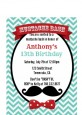 Mustache Bash - Birthday Party Petite Invitations thumbnail
