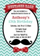 Mustache Bash - Birthday Party Invitations thumbnail