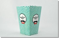 Mustache Bash - Personalized Birthday Party Popcorn Boxes