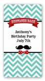 Mustache Bash - Custom Rectangle Birthday Party Sticker/Labels