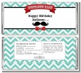 Mustache Bash - Personalized Birthday Party Candy Bar Wrappers thumbnail