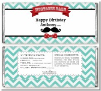 Mustache Bash - Personalized Birthday Party Candy Bar Wrappers