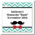 Mustache Bash - Personalized Birthday Party Card Stock Favor Tags thumbnail