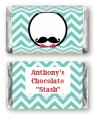 Mustache Bash - Personalized Birthday Party Mini Candy Bar Wrappers thumbnail