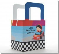 Nascar Inspired Racing - Personalized Baby Shower Favor Boxes