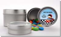 Nascar Inspired Racing - Custom Baby Shower Favor Tins